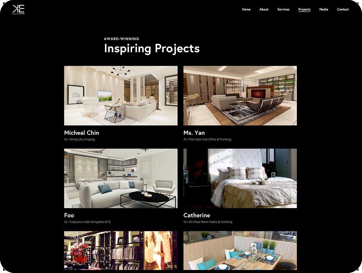 WordPress Web Design - tablet View
