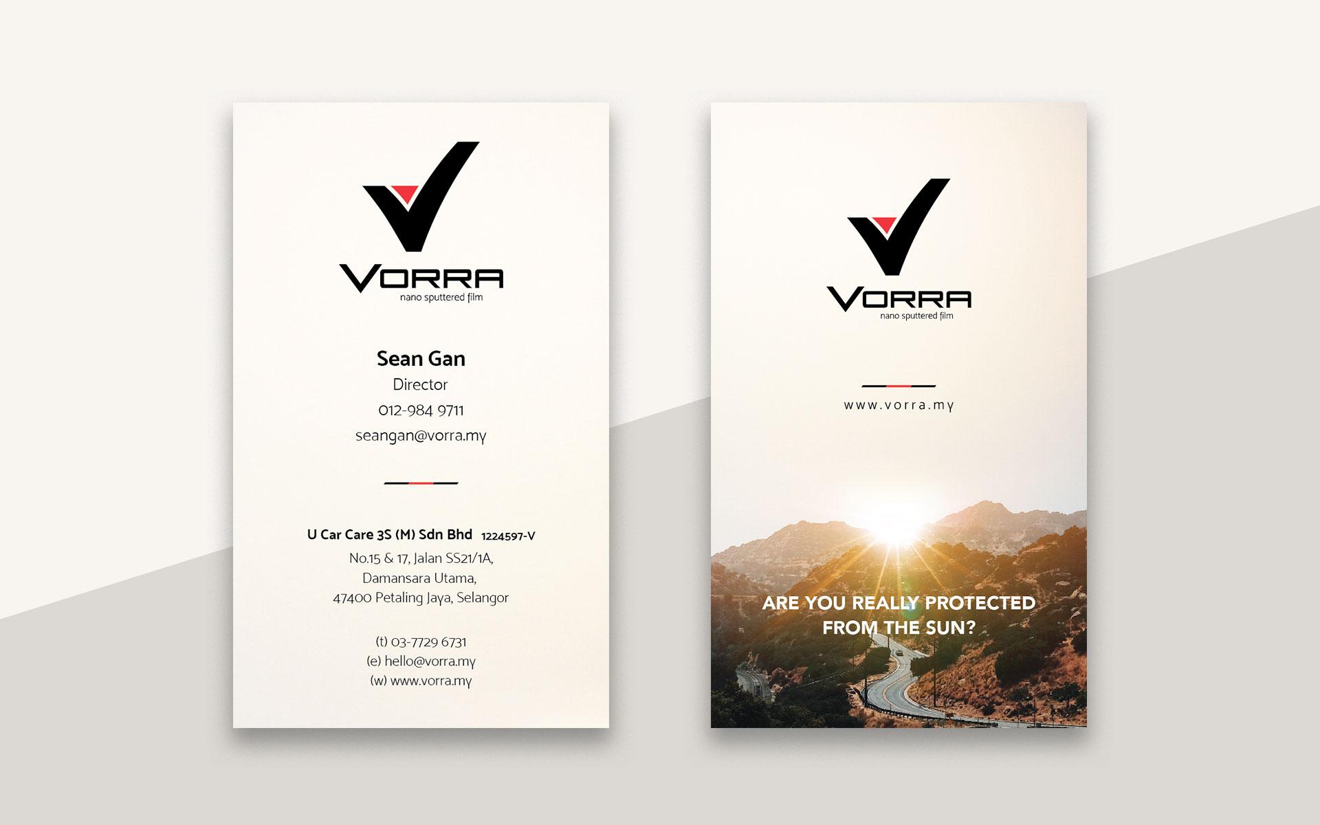 VORRA Business Card