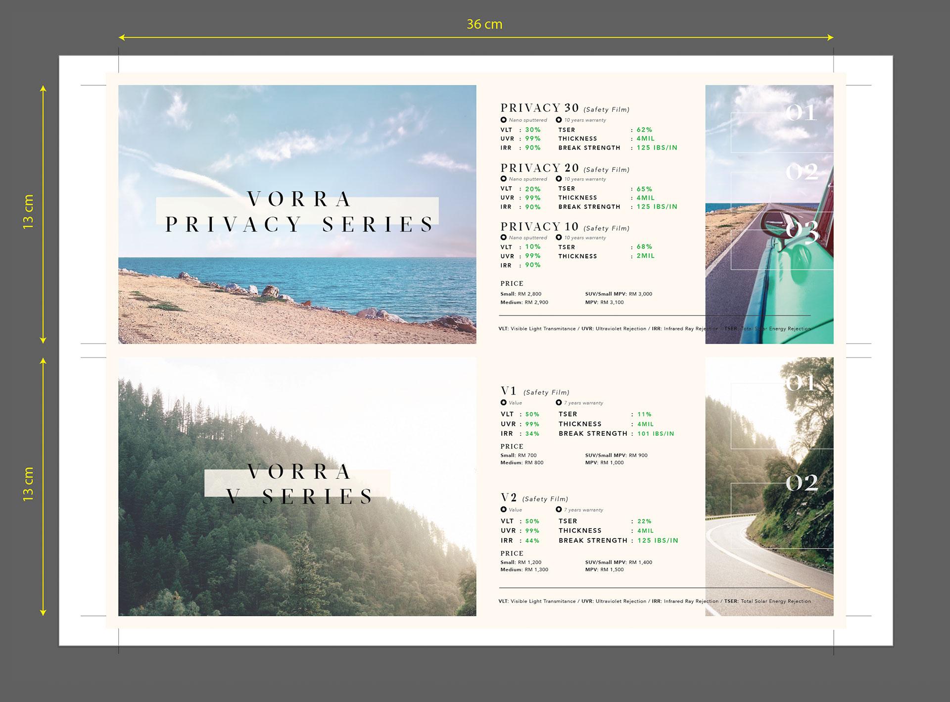 vorra catalog design