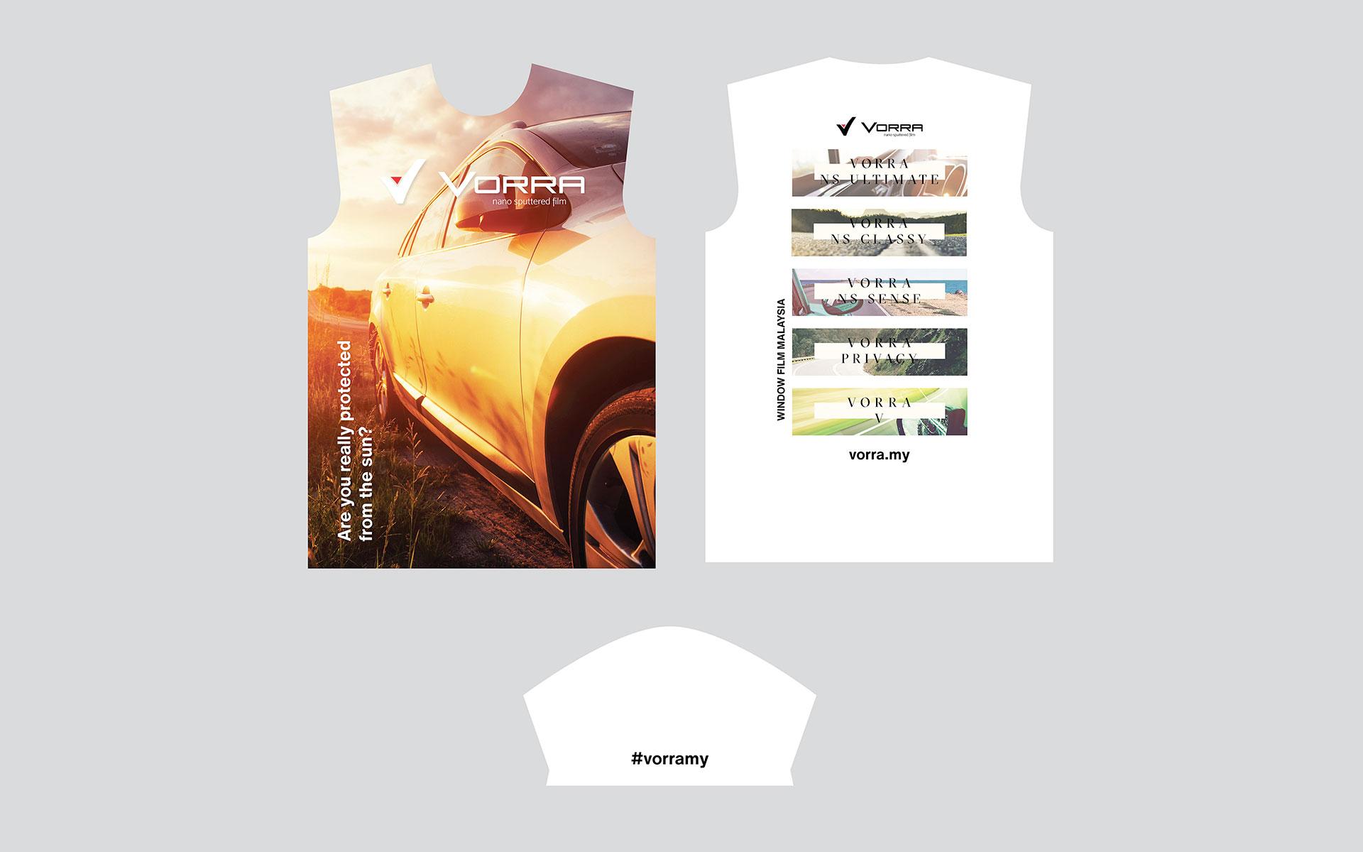 VORRA Tshirt Design