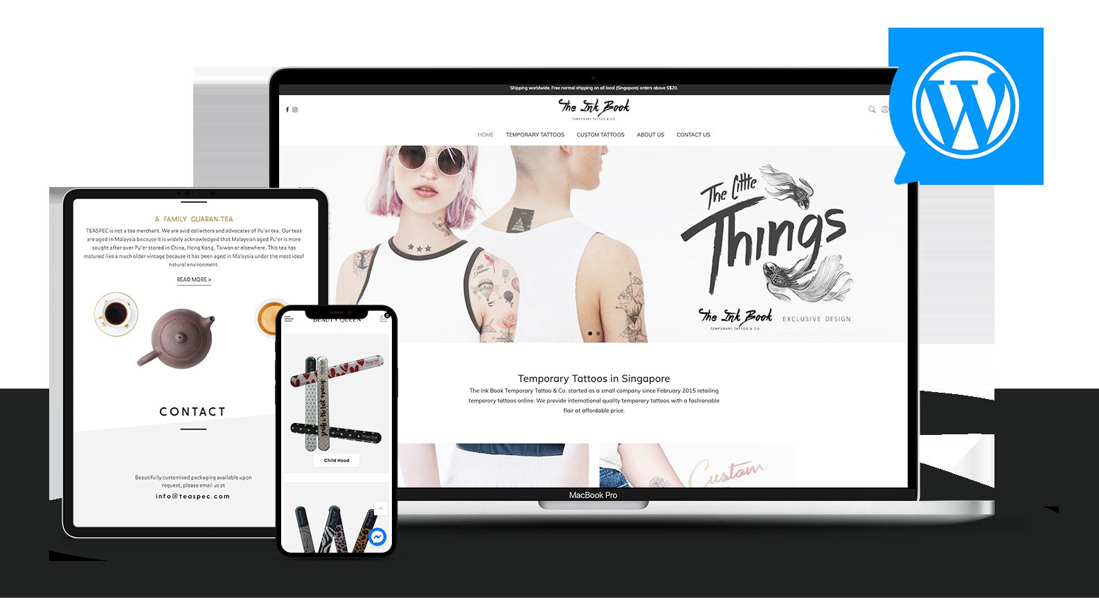 WordPress Website Maintainance
